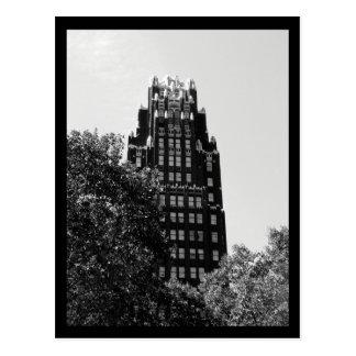 Cartão Postal Construção do parque de NYC Bryant