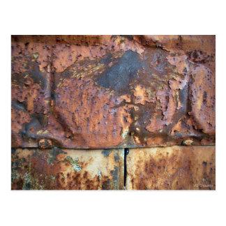 Cartão Postal Construção industrial velha tomando partido do