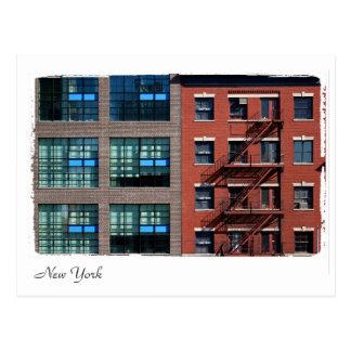 Cartão Postal Construções de New York