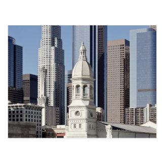 Cartão Postal Construções do arranha-céus de Los Angeles no