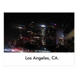 Cartão Postal Construções do centro de Los Angeles