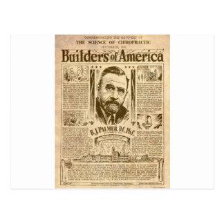 Cartão Postal construtores de América