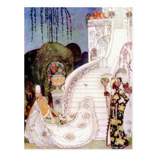Cartão Postal Conto de fadas de Cinderella de Kay Nielsen