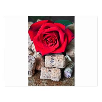 Cartão Postal CONVERSAS ROSA with cork