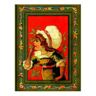 Cartão Postal Coordenadas do estilo 1885