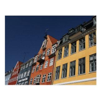 Cartão Postal Copenhaga Dinamarca