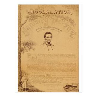 Cartão Postal [Cópia de Paine da proclamação da emancipação.
