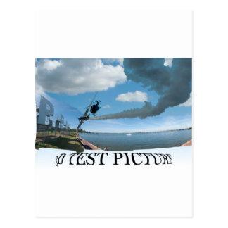 Cartão Postal cópia do panorama de perth