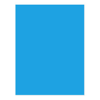 Cartão Postal Cor azul esplêndida sereno