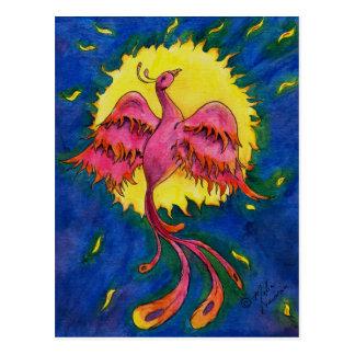 Cartão Postal Cor de Phoenix