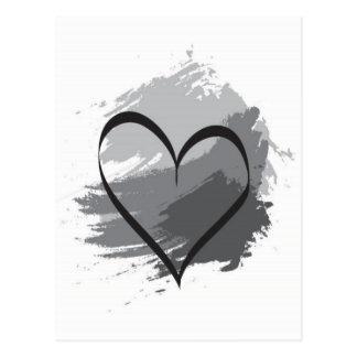 Cartão Postal Coração