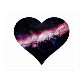 Cartão Postal Coração da galáxia