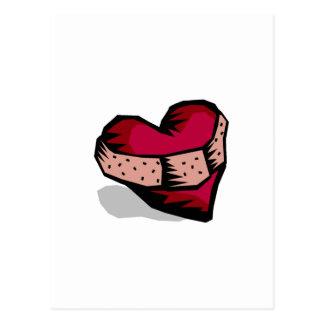 Cartão Postal Coração (quebrado)