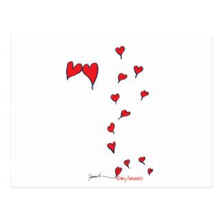 Cartão Postal corações 1 por fernandes tony