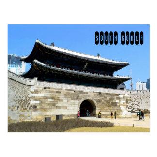 Cartão Postal Coreia do Sul