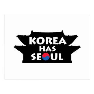 Cartão Postal Coreia tem Seoul