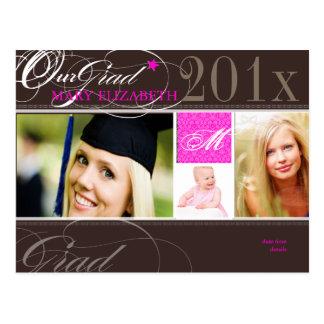 Cartão Postal Cores da classe 2012/swirls/DIY de PixDezines+pias
