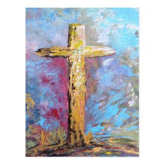 Cartão Postal Cores da cruz