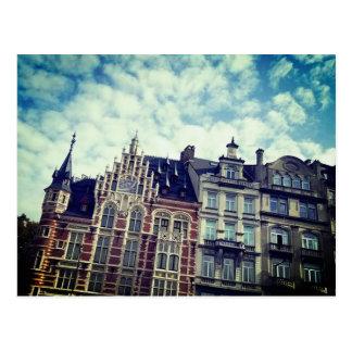 Cartão Postal Cores de Bélgica