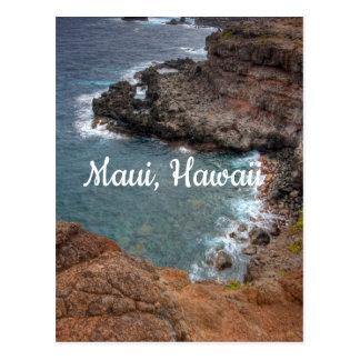 Cartão Postal Cores de Maui, Havaí