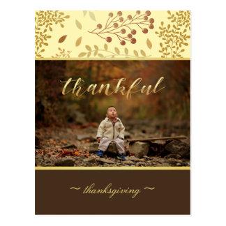 Cartão Postal Cores do outono, foto grata