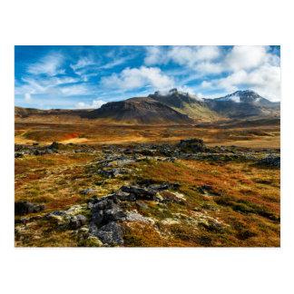 Cartão Postal Cores do outono na paisagem