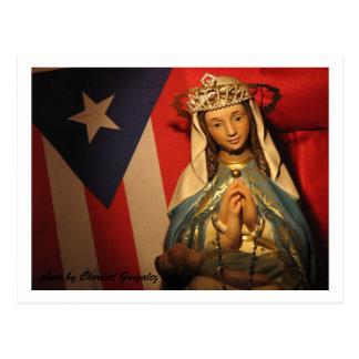 Cartão Postal Coroando o Virgin