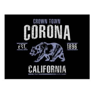 Cartão Postal Corona