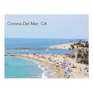 Cartão Postal Corona del Mar, CA