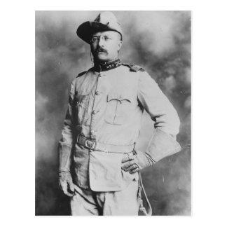 Cartão Postal Coronel Theodore Roosevelt, 1898.