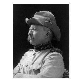 Cartão Postal Coronel Theodore Roosevelt desde 1898