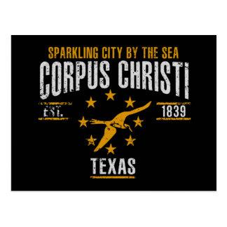 Cartão Postal Corpus Christi