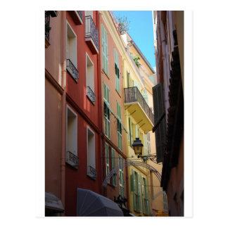 Cartão Postal Corredor em Monte - Carlo, Monaco