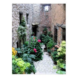 Cartão Postal Corredor no La Turbie, France