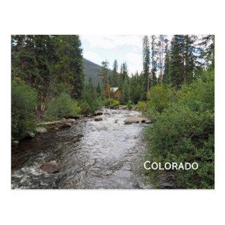 Cartão Postal córrego em Colorado