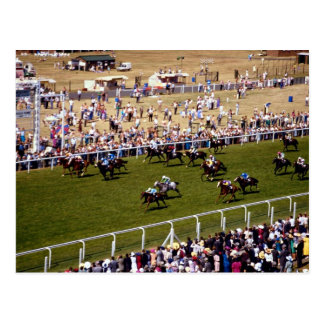 Cartão Postal Corrida de cavalos