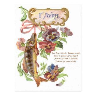Cartão Postal Corriola dos peixes
