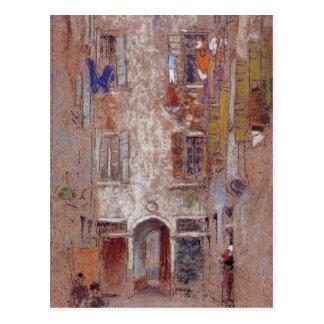 Cartão Postal Corte del Paradiso pelo assobiador