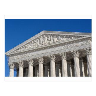 Cartão Postal Corte suprema dos Estados Unidos