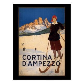Cartão Postal Cortina d'Ampezzo