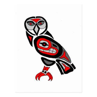 Cartão Postal Coruja 2014 do Haida