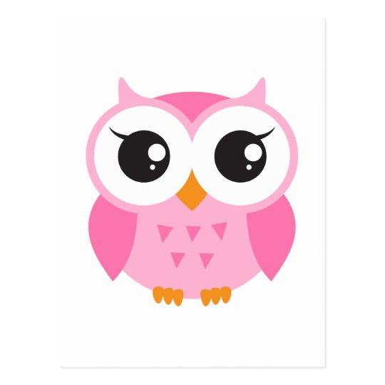 cart u00e3o postal coruja cor de rosa bonito do beb u00ea dos owl clipart silhouette owl clip art
