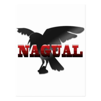Cartão Postal Corvo do corvo de Nagual