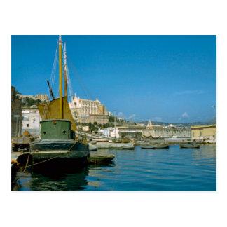 Cartão Postal Costa de Amalfi, beira-rio de Salerno