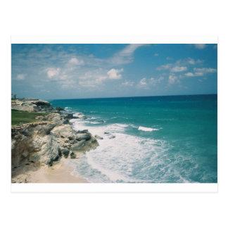 Cartão Postal Costa de Cancun