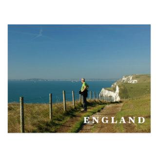 Cartão Postal Costa de Dorset