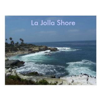 Cartão Postal Costa de La Jolla