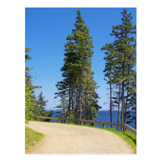 Cartão Postal Costa de Maine