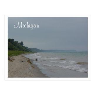 Cartão Postal Costa de Michigan