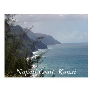 Cartão Postal Costa de Napali, Kauai